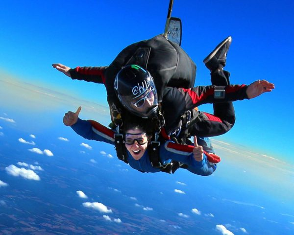 Skydiving Weight Limit in Georgia