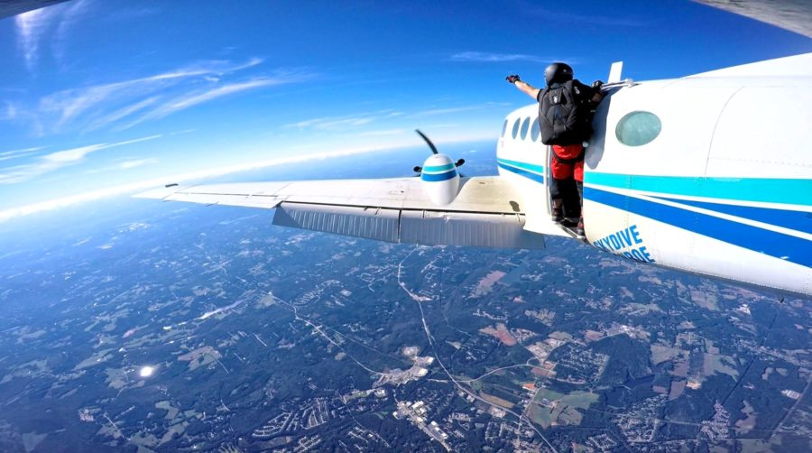 Solo Skydiving Training