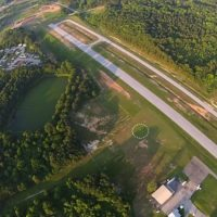 Landing Area at Skydive Monroe in Georgia