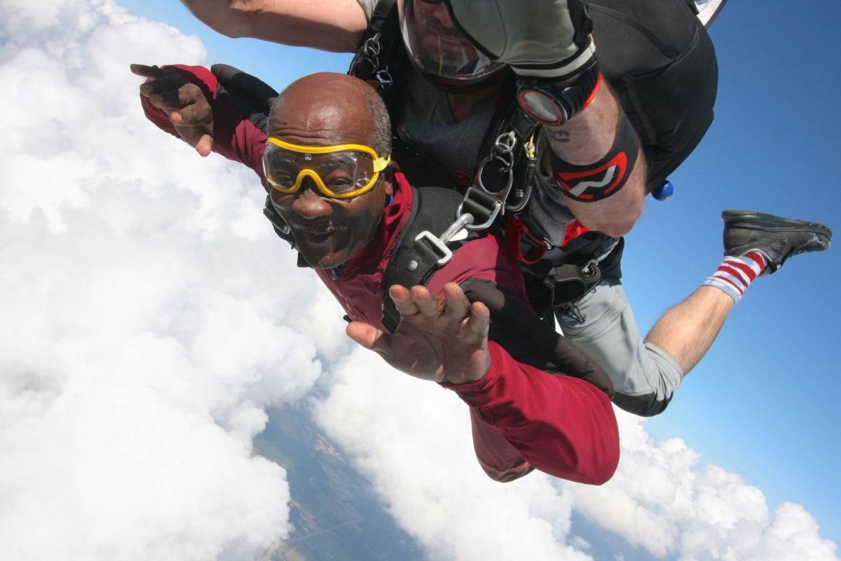 what is the skydiving weight limit