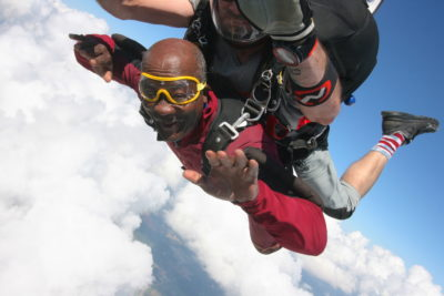 type of person who skydives