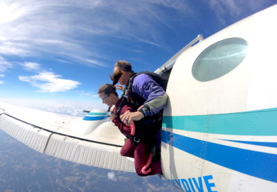 skydiving type of person