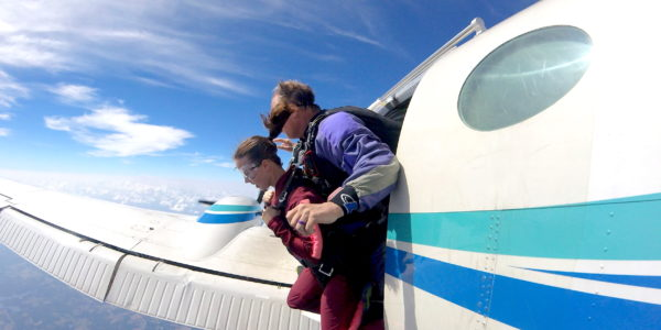 Managing Skydiving Door Fear