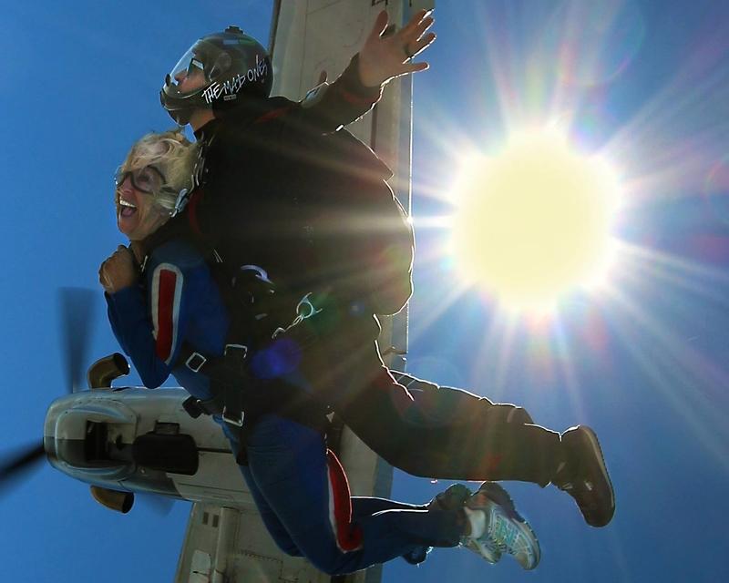 skydiving summer adventure