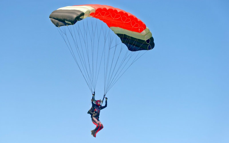Skydiving Parachute - Skydiving Monroe