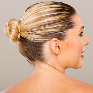 Bun Hairstyle for Skydiving