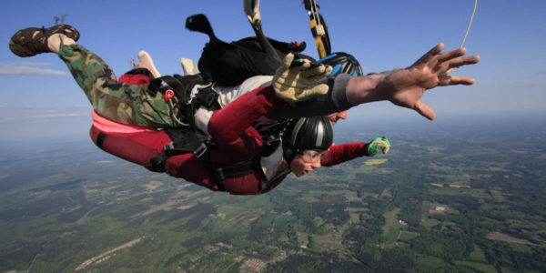 first skydive jump