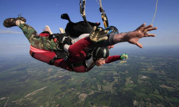 breathing tips tandem skydiving