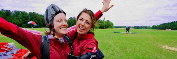 Skydiving Birthday Celebration