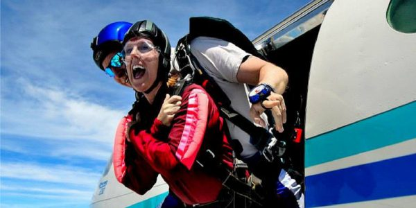 How NOT To Prepare For Skydiving