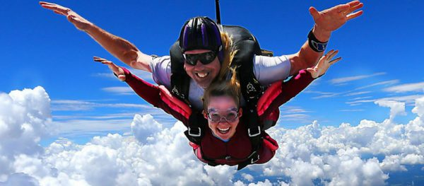 freefall in skydiving