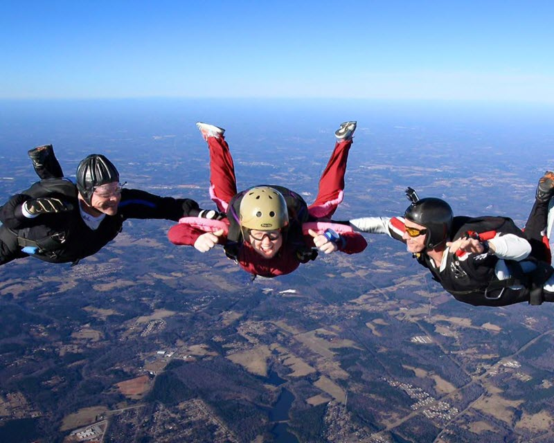 Skydiving: When Sh*t Gets Real!   Skydive Monroe