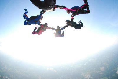 sport skydiving