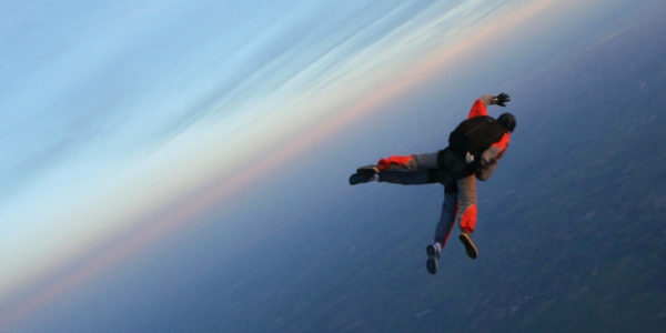 skydiving freefall