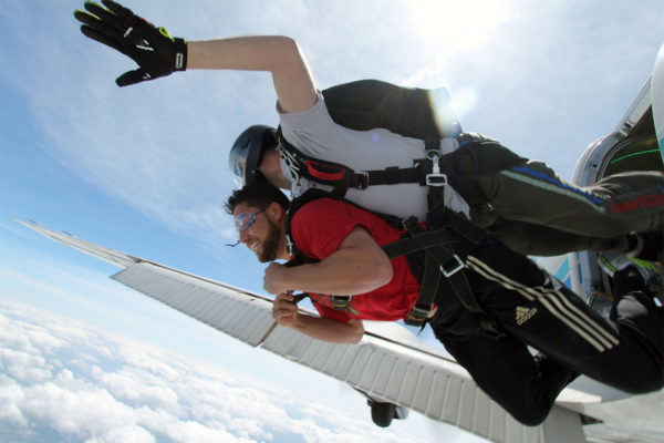 Skydive Monroe. Three things you don't expect
