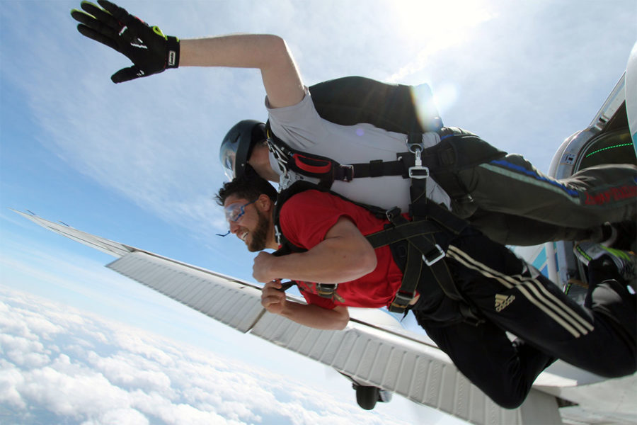 What's the Skydiving Weight Limit?