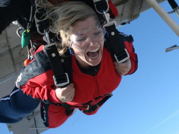 skydiving monroe, tandem skydiving